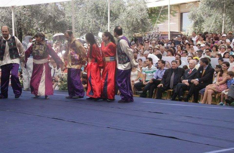 İsrail'de Kürt karnavalı