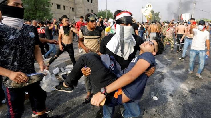İsyanlar, Irak'ı sarsıyor