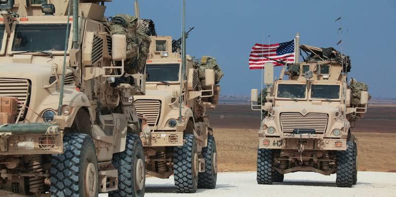 ABD askerleri yeniden Suriye'ye girdi