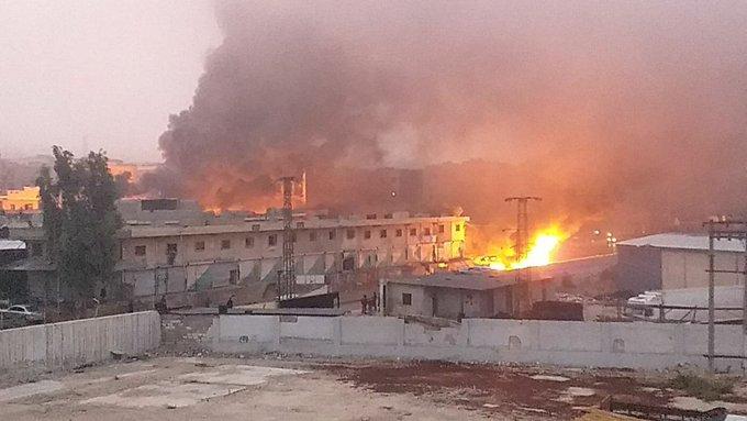 Efrin'de patlama: 8 Ölü