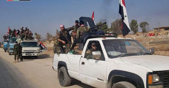 Suriye ordusu sınırda üsleniyor