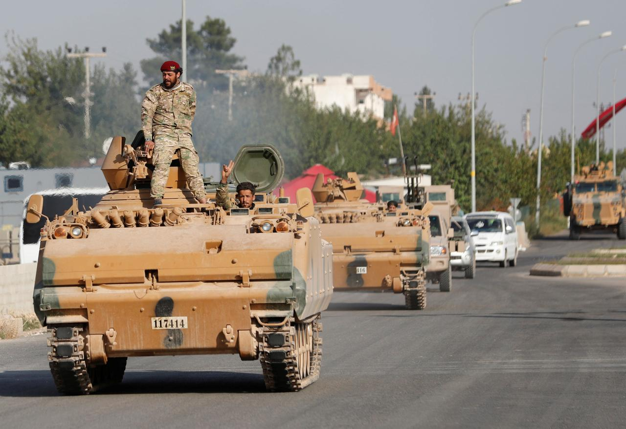 Kobani'den Semelka'ya kadar Suriye askeri konuşlanacak
