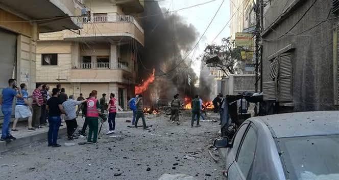 Haseke'de patlama: 2 DSG'li yaralandı!