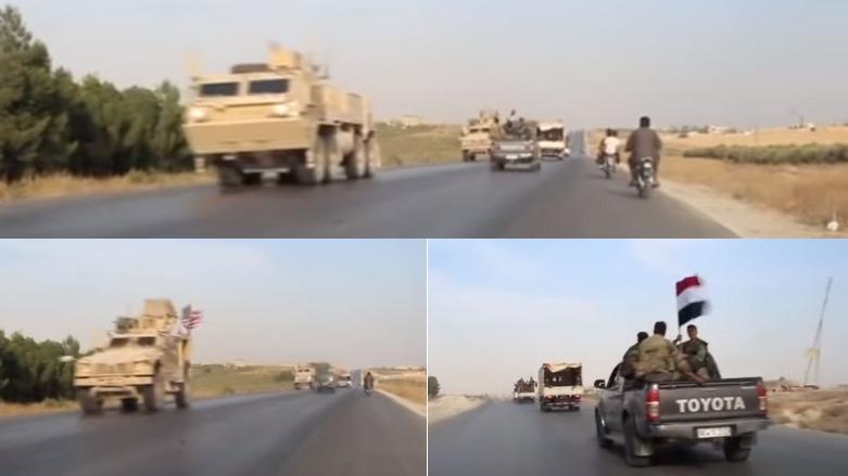 ABD kuvvetleri ile rejim aynı yolda karşılaştı