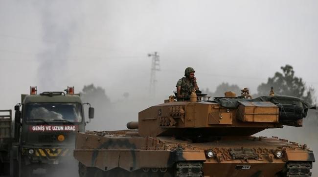 Türk ordusu Til Temir'in kuzeyini bombaladı!