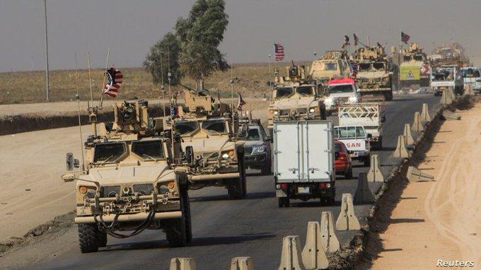ABD | Kürdistan Bölgesi'nden Rojava'ya en büyük sevkiyat