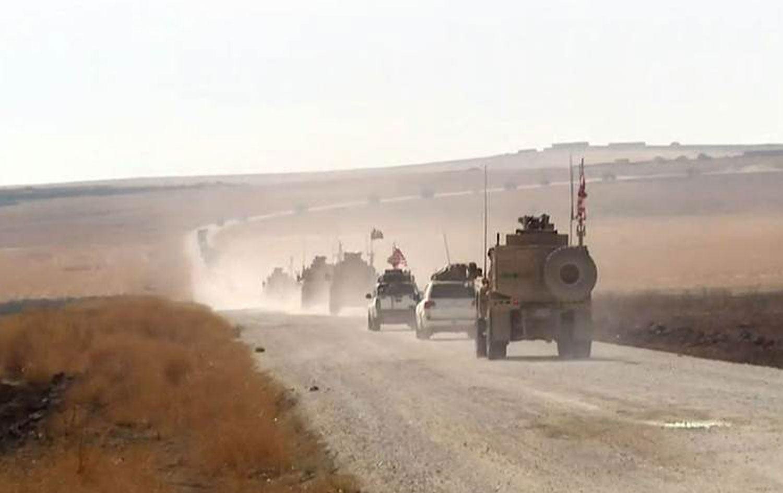 Kritik üs boşaltıldı: ABD'nin 70'e yakın askeri aracı ayrıldı!