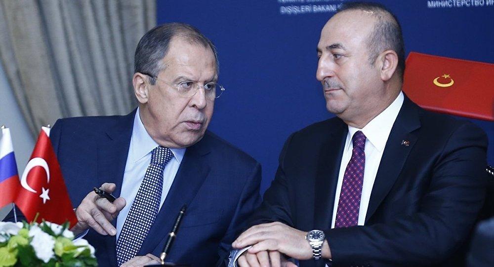 Lavrov ve Çavuşoğlu, Rojava mutabakatını görüştü