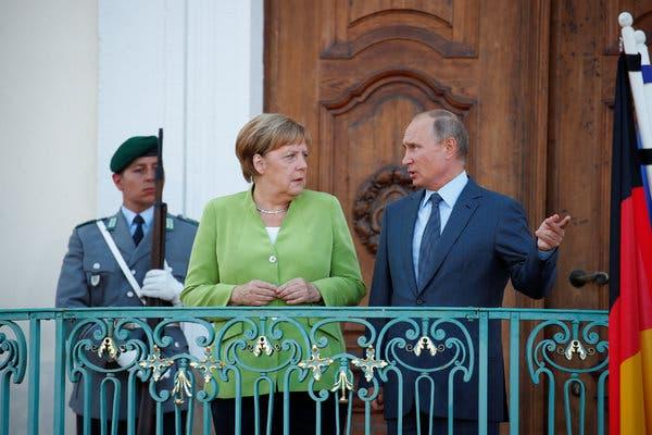 Putin ve Merkel, Rojava mutabakatı değerlendirdi