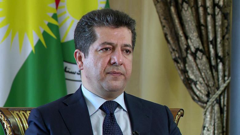Başbakan Mesrur Barzani'den kutlama mesajı