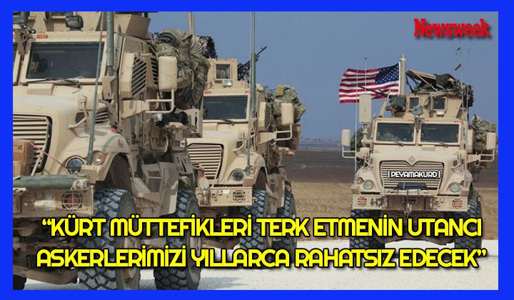 ABD'li iki eski asker: Biz Kürtlere de ihanet ettik!