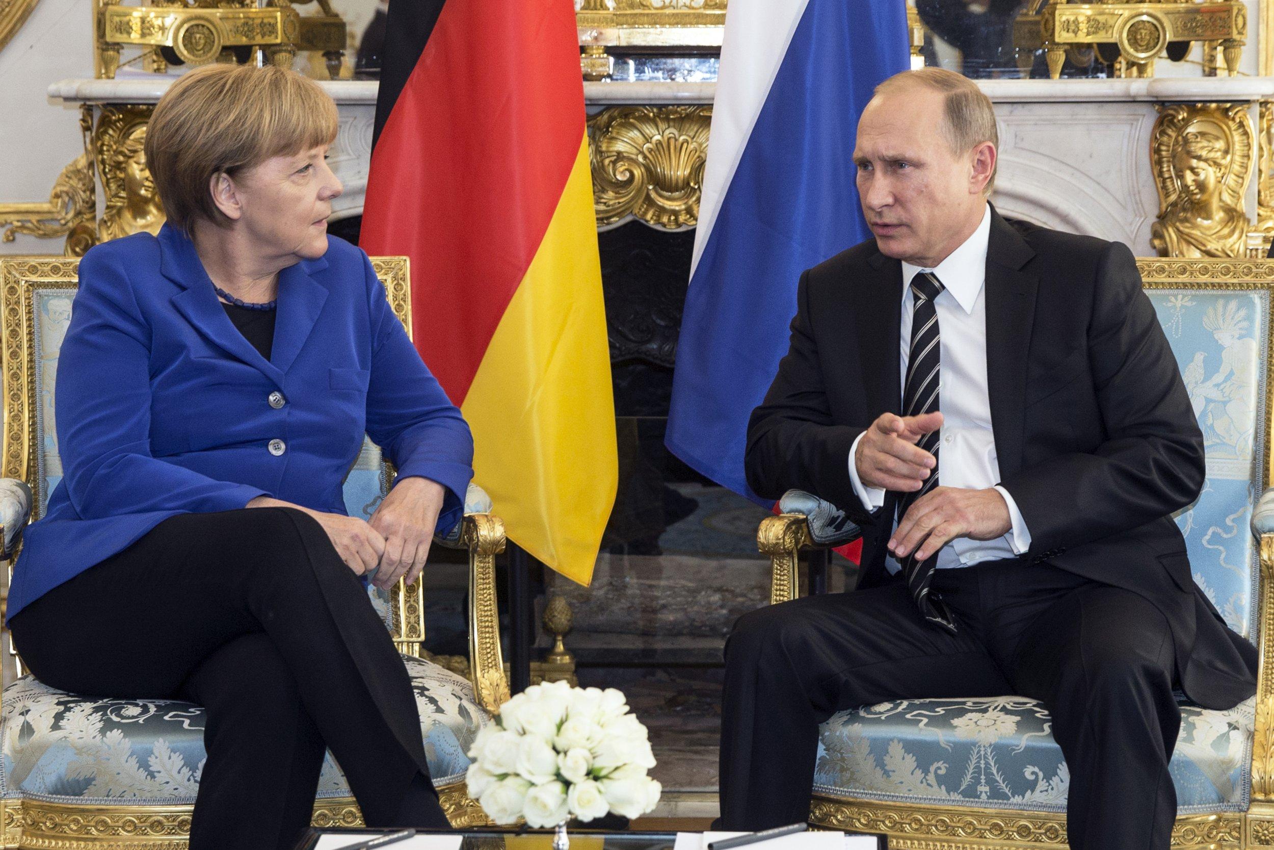 Rusya ve Almanya, Suriye'deki son durumu değerlendirdi