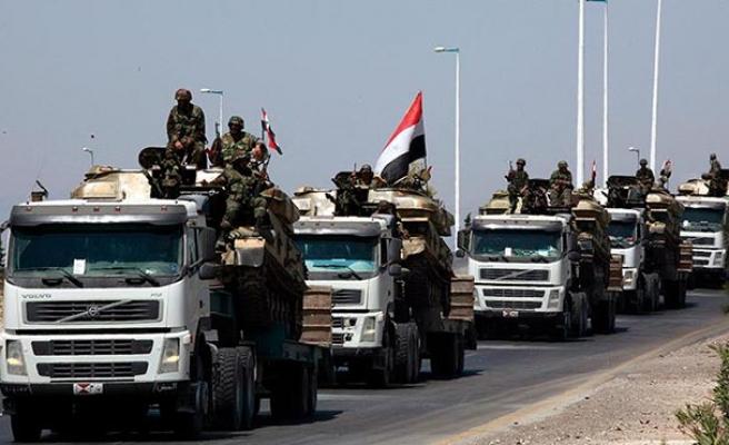 Esad rejimi Rakka ve Haseke'ye askeri birlikler gönderdi
