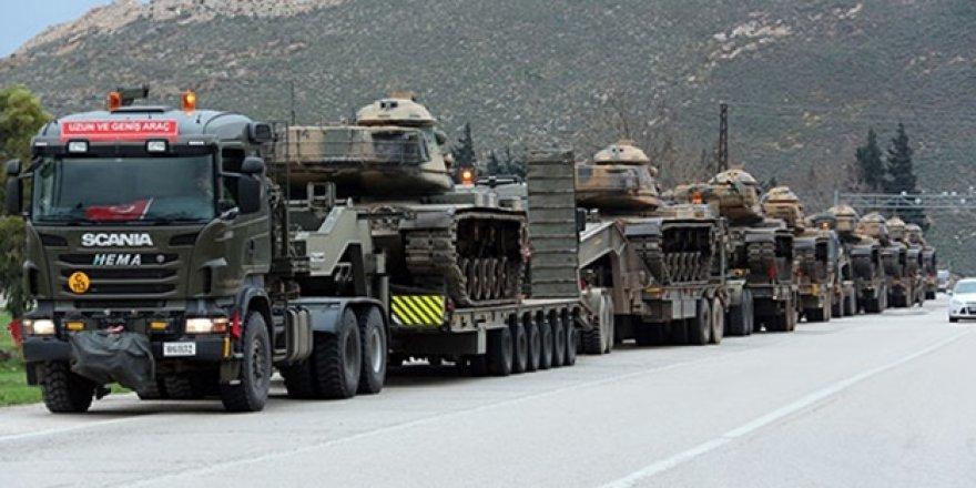 TSK, Kobani ve Serêkaniyê'ye askeri sevkiyat düzenledi