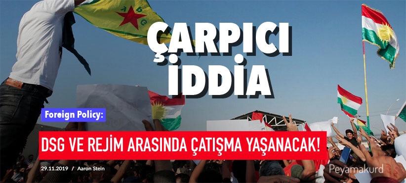 """""""Kürtler statü elde etmek için var gücüyle çalışacak ama..."""""""