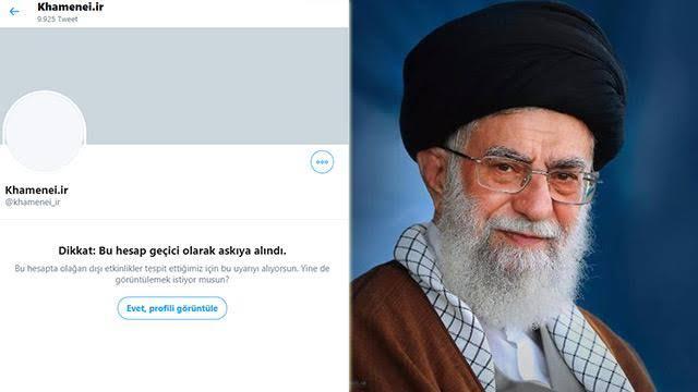 İran'a bir şokta Twitter'dan geldi!
