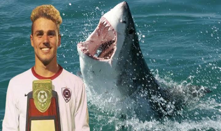 Genç futbolcudan acı haber: Köpekbalıkları parçaladı!