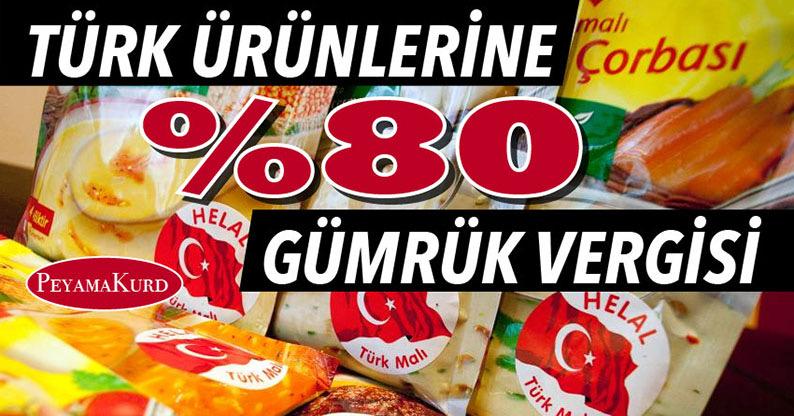 Kürdistan Bölgesi'nden, Türkiye'ye ekonomik uyarı sinyali