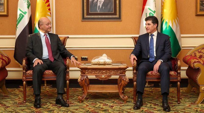 Neçirvan Barzani Bağdat'ta Berhem Salih ile görüştü