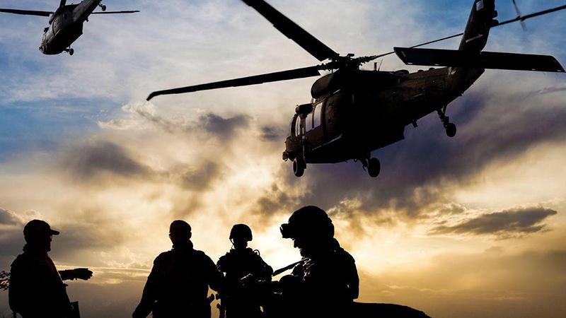 ABD'nin askeri üssüne saldıran IŞİD'liler öldürüldü