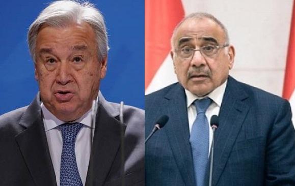 BM'den Abdulmehdi'nin istifa açıklamasına yanıt