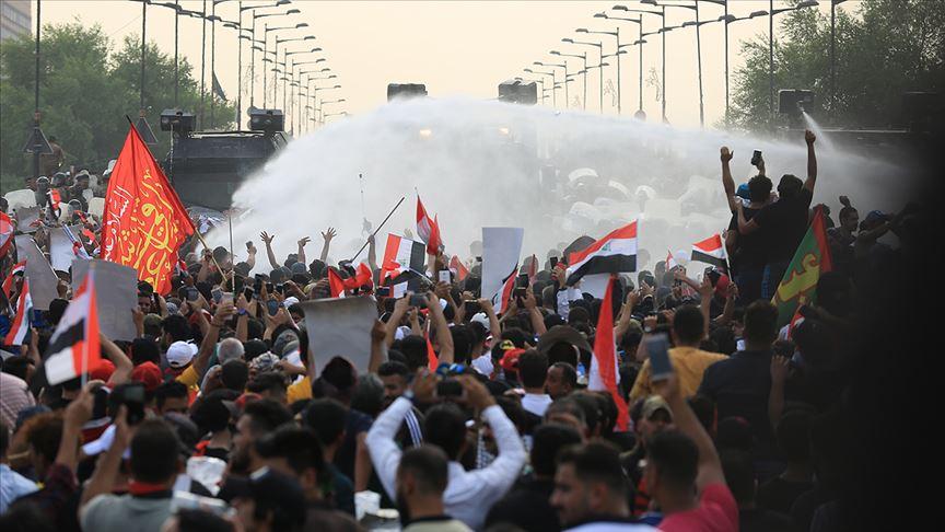 Irak'ta hükümet karşıtı gösteriler tekrar başladı