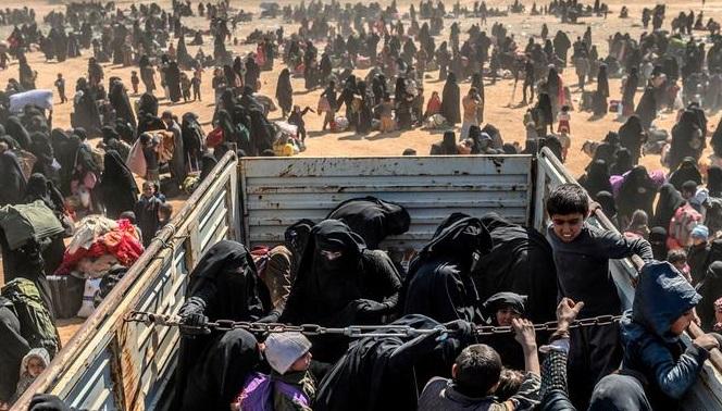 DSG, El Hol kampından 300 IŞİD'li aileyi serbest bıraktı