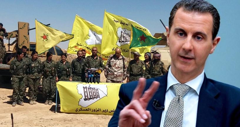 Esad'dan Kürt güçleri ve federasyona yönelik açıklama