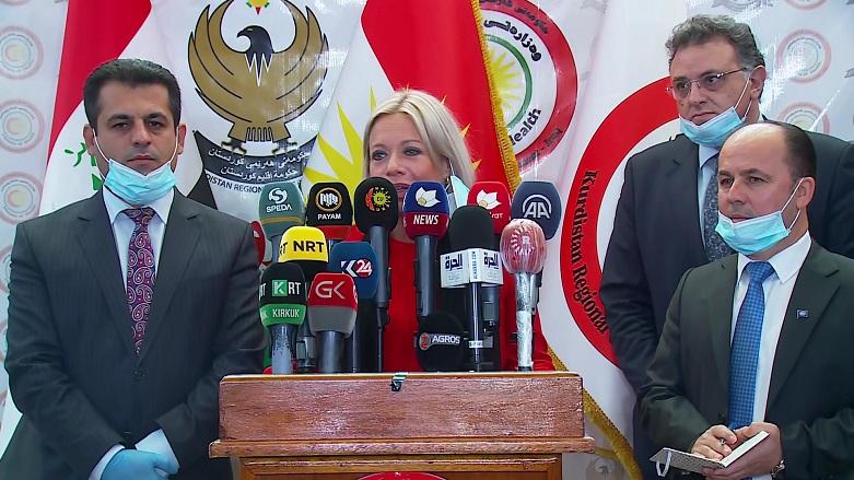 BM'den Kürdistan hükümetine: Olağanüstü bir iş çıkardı