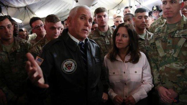 Bağdat: Pence, ziyaretinden Iraklı yetkililerle görüşmedi