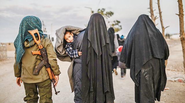 DSG'nin kontrolündeki kamptan 200 IŞİD'li serbert bırakıldı