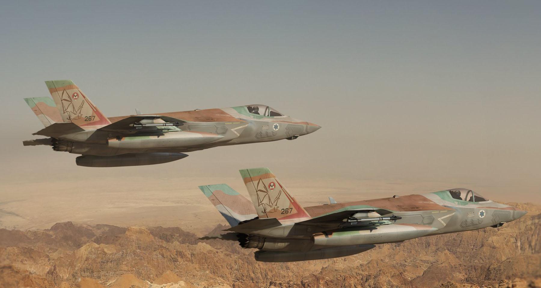 İsrail'den F-35 jetleri ile S-400'lere karşı koyma tatbikatı