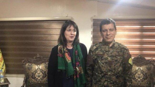 Mustafa Bali: Kobane, ABD'li komisyon yetkilisi ile görüştü