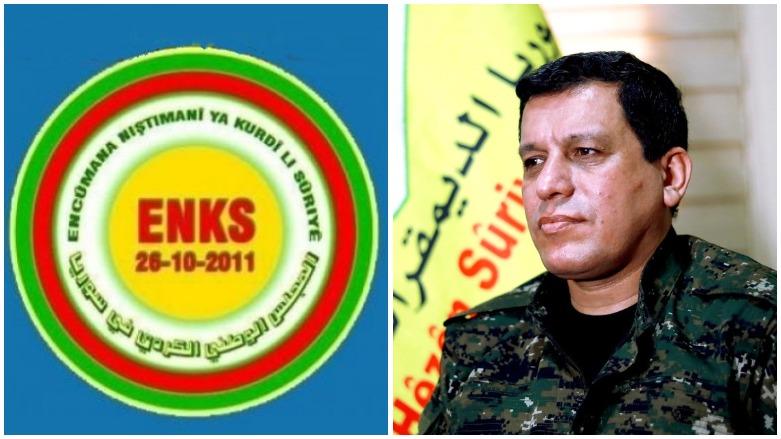 """DSG ve ENKS görüşmesinde gündem """"Rojava"""""""