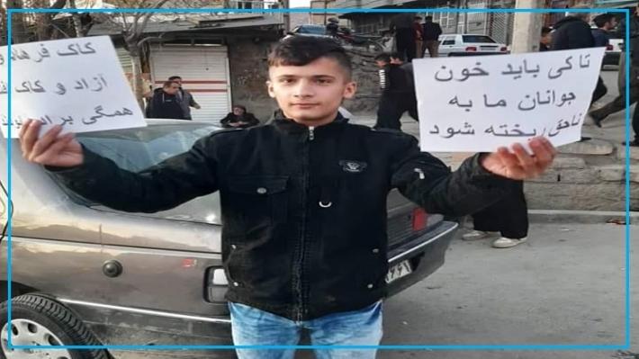 Rojhilat'ta kolberlerin ölmesini protesto eden çocuk gözaltına alındı