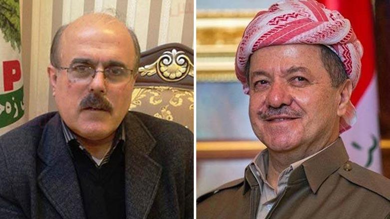 Başkan Barzani'den Zehmetkeşan liderine ilişkin mesaj