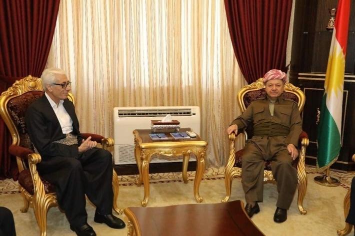 """Kürt sanatçı: """"Başkan'ı görmekten gönlüm şad oldu..."""""""