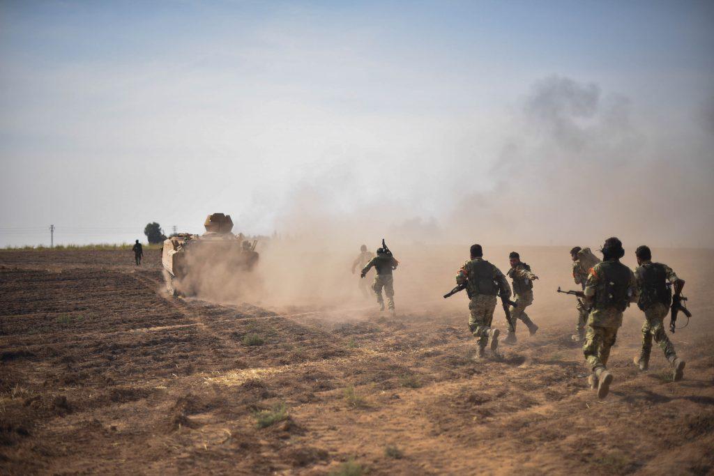 VİDEO | ÖSO militanları, Libya'da Hafter'e karşı savaşıyor
