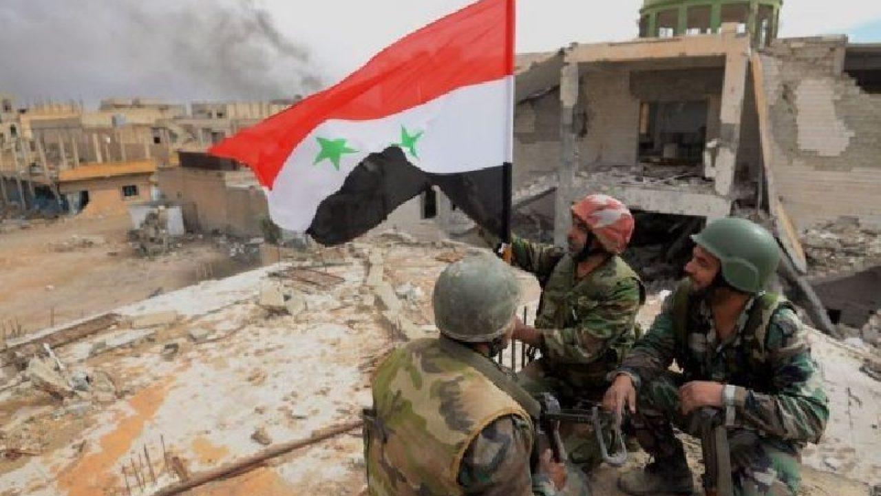 "Esad Ordusu: ""40 belde, 320 km alan ele geçirildi"""
