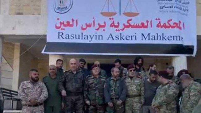 Serekaniyê'de Türkçe ve Arapça tabelalar asıldı