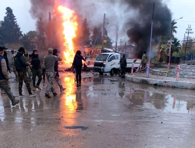 Serekaniyê bölgesinde 2 bombalı saldırı düzenlendi