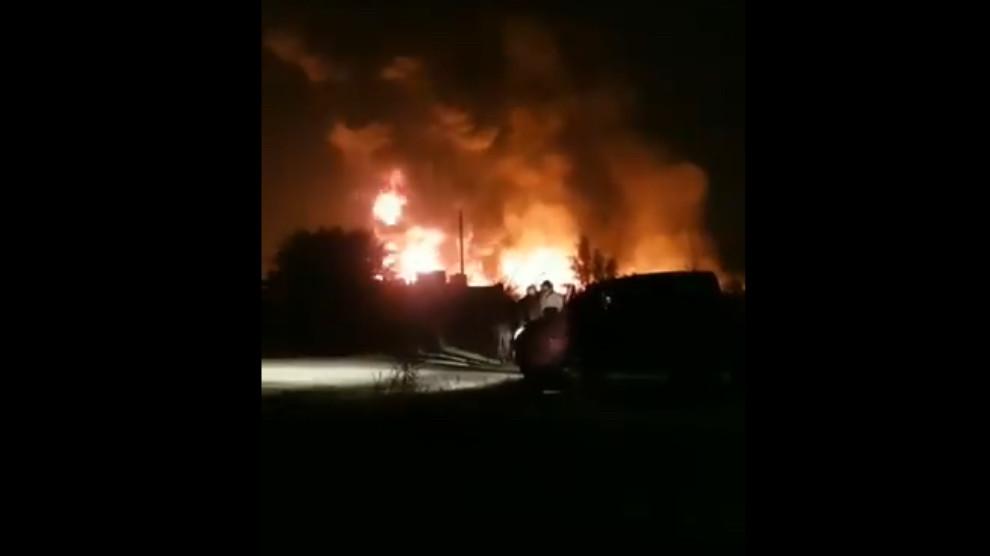 ÖSO-SMO merkezinde patlama