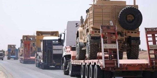 SOHR: ABD'den Rojava'ya 20 TIR askeri ve silah sevkiyatı
