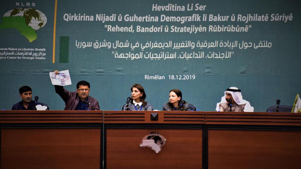 Rojava: SMO, terör listesine alınmalı, DSG'ye destek verilmeli