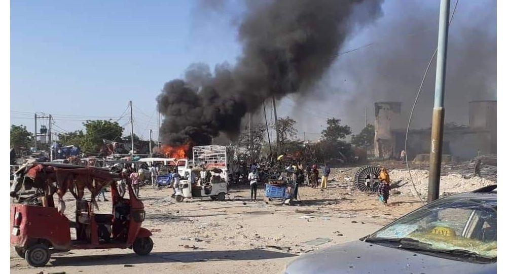 Somali'de bombalı saldırı: 2'si Türk 90 kişi öldü