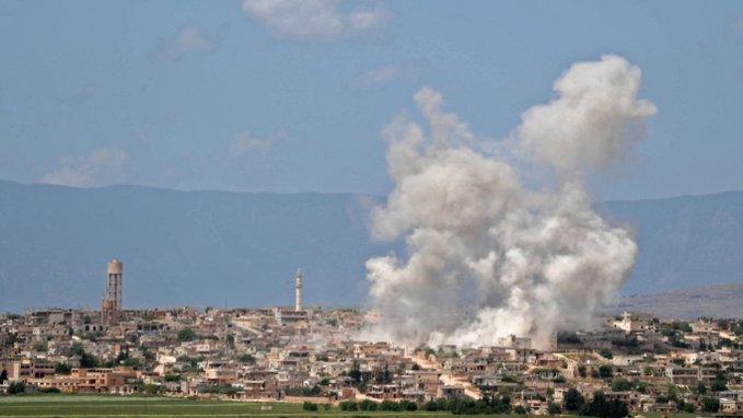 Suriye Ordusu İdlib'e doğru ilerliyor