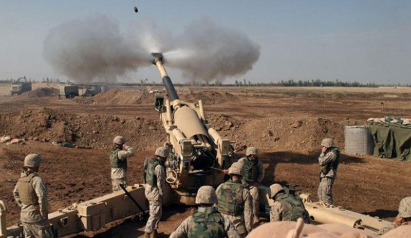 TSK-SMO, Til Temir bölgesine topçu atışları gerçekleştirdi
