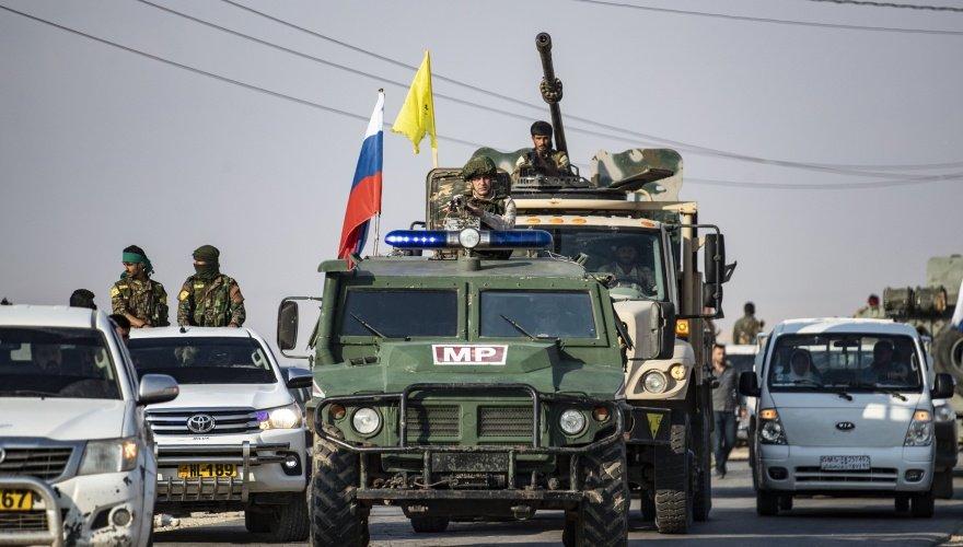 Rusya'dan Kürt güçlerine M4 Karayolu sözü