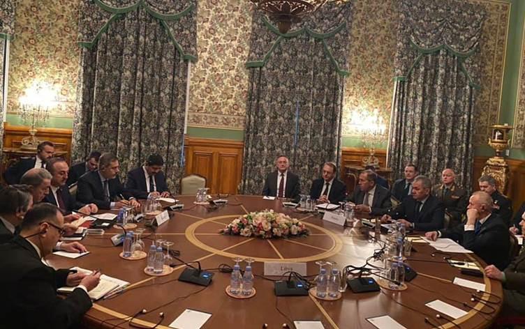 Libya'da çatışan taraflar Moskova'da bir araya geldi: Görüşme başladı
