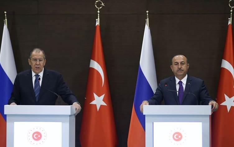 Çavuşoğlu ve Lavrov'dan Libya Mutabakatı açıklaması